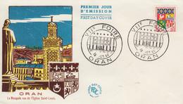 Enveloppe   FDC  1er Jour  FRANCE   Blason  D' ORAN   Foire  D' ORAN  1960 - 1960-1969