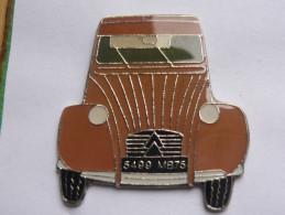 Pin S Automobile 2 CV CITROEN Serie Limitee - Badges