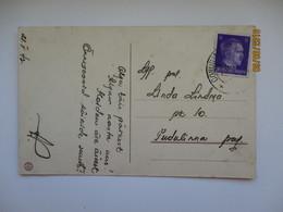 1942 ESTONIA OSTLAND DEUTSCHES REICH  OONURME VIRUMAAL AG  , OLD POSTCARD  , 0 - Estonie