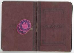Passeport - Reisepass LIECHTENSTEIN 1915 = 24 Pictures / Bilder - Historische Dokumente