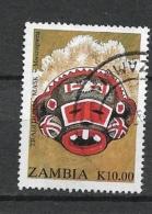 ZAMBIA       1992 Traditional Masks           USED - Zambie (1965-...)