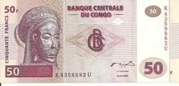 CONGO 50 FRANCS 2000 UNC P 91 - Non Classés