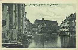 ALT ERFURT - Blick Von Der Mühlstege. - Erfurt