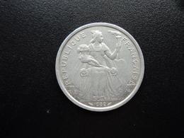 NOUVELLE CALÉDONIE : 2 FRANCS  1982   KM 14   SUP - New Caledonia