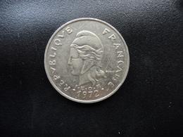 NOUVELLE CALÉDONIE : 20 FRANCS  1972   KM 12    SUP - New Caledonia