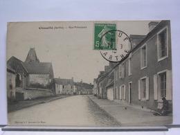 72 - CHASSILLE - RUE PRINCIPALE - 1913 - France