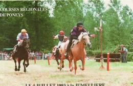 La Jumellière Animée Courses Régionales De Poneys - Autres Communes