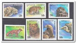 Kirgistan 1995, Postfris MNH, Birds, Animals - Kirgizië
