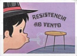 BUBBLE GUM / CHEWING GUM: PIRATA - TRUQUES DE MAGIA - SET OF 80 CHROMOS - 33 - RESISTENCIA AO VENTO (PORTUGAL) - Other