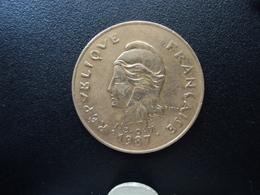 NOUVELLE CALÉDONIE : 100 FRANCS  1987   KM 15   SUP+ - New Caledonia