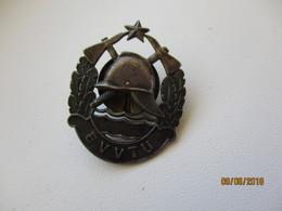 USSR RUSSIA ESTONIA FIREMEN OLD BADGE  , 0 - Brandweerman