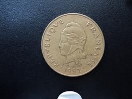 NOUVELLE CALÉDONIE : 100 FRANCS  1997  G.139a * / KM 15   SUP 55 - New Caledonia
