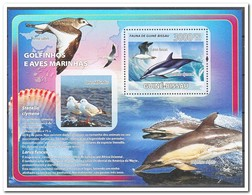 Guinea-Bissau, Postfris MNH, Birds, Dolphins - Guinea-Bissau