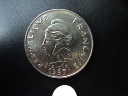 NOUVELLE CALÉDONIE : 50 FRANCS  1997   KM 13     Non Circulé - New Caledonia