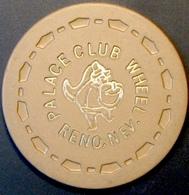 Roulette Casino Chip. Palace Club, Reno, NV. E07. - Casino