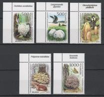 Belarus 2010 Wießrussland Mi 828-832 The Red Book. Mushrooms. Birds. Animals. Butterfly ** / MNH - Non Classés