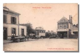 61 GACE Place De La Gare   61  Carte Rare  2 (scan Recto Verso) FRCR90928 - Gace