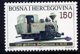BOSNIA & HERCEGOVINA (Sarajevo) 1997 Railway Anniversary MNH / **.  Michel 97 - Bosnia And Herzegovina