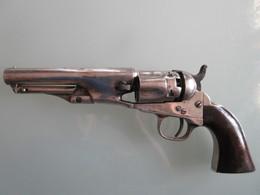 ORIGINAL REVOLVER COLT POCKET POLICE CALBRE 36 BLACK POWDER VERSION ARGENT - Decorative Weapons