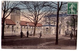 1668 - Paris ( XVIe ) - Caserne De La Gendarmerie - Boulevard Lannes - N°305 - - Distrito: 16