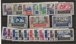 R03/ MARRUECOS ESPAÑOL 260/9*. 280/90*, MUY BONITOS - Marruecos (1956-...)