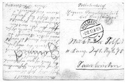 CF Envoyée En Franchise Par Un Militaire De Malmédy Vers L'Allemagne (1912) - Postmark Collection