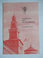 Milano 1959 / Giornata Del Francobollo - Borse E Saloni Del Collezionismo
