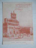 Lucca 1959 / Giornata Del Francobollo - Borse E Saloni Del Collezionismo