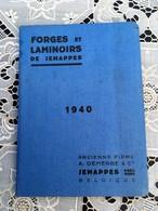 Forges Et Laminoirs De Jemappes  1940 - Album Des Produits Fabriqués - Belgique