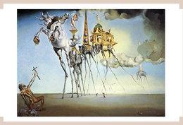 DALI POSTAL RP.  La Tentacion De San Antonio(1946) - Pintura & Cuadros