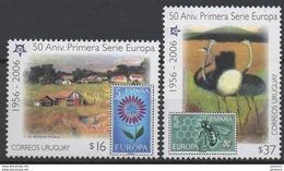 2006 - 50ème Anniv. CEPT  Uruguay  ** TTB - Idées Européennes