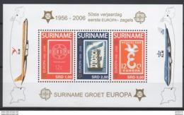 2006 - 50ème Anniv. CEPT  Suriname  ** TTB - Idées Européennes