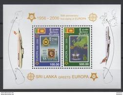 2006 - 50ème Anniv. CEPT  Sri Lanka  ** TTB - Idées Européennes