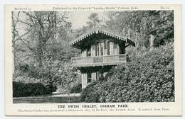 COBHAM PARK : THE SWISS CHALET (CHARLES DICKENS / FECHTER) - Surrey