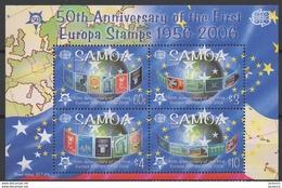 2006 - 50ème Anniv. CEPT  Samoa  ** TTB - Idées Européennes