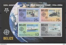 2006 - 50ème Anniv. CEPT  Belize  ** TTB - Idées Européennes