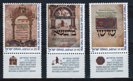 Israel Set Of Stamps From 1986 To Celebrate Jewish New Year. - Israel