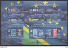 2006 - 50ème Anniv. CEPT  Solomon Islands  ** TTB - Idées Européennes