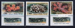 Israel Set Of Stamps From 1986 To Celebrate Red Sea Corals. - Israel