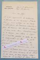 L.A.S 1904 Joseph RUAU Homme Politique - ASPET -  Pot Satzuma - Sabre - Lettre Autographe Chambre Des Députés - Autographes