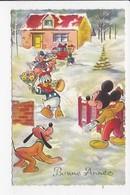 CPSM DISNEY Mickey Donald Pluto Et Les 3 Petits Cochons - Sonstige