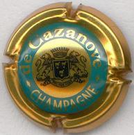 CAPSULE-CHAMPAGNE DE CAZANOVE N°14 Cercle Int. Or - De Cazanove