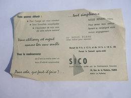 SICO 10 Rue De La Victoire Paris - Crédit - Assurances - Banca & Assicurazione