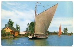 """WHERRY : """"HATHOR"""", NORFOLK BROADS - Sailing Vessels"""