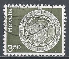 Switzerland 1980. Scott #579 (U) Astronomical Clock, Bern Clock Tower * - Suisse