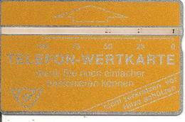 -CARTE AUTRICHE HOLOGRAPHIQUE-100U-GENERIQUE-V°N°Envers 109C61790-BE-RARE - Autriche