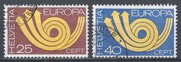 Switzerland 1973. Scott #580-1 (U) Europa * Complet Set - Suisse