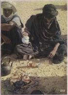CPM - PREPARATION DU THE - Edition Iris - Niger