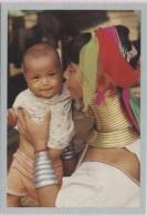 CPM - BIRMANIE - ETAT KARENNI - Tendresse Kayan - Edition Anako - Postcards