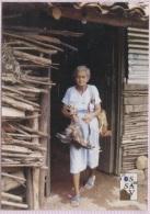 CPM - EL SAVADOR - JUCUARAN - Photo De FEMME - Salvador